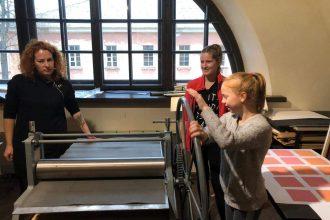 """Ar iniciatīvu """"Latvijas skolas soma"""" Ilūkstes Raiņa vidusskolas 7.e – 9.e klases skolēnu mācību ekskursija uz Marka Rotko mākslas centru"""