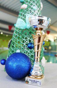 Sporta skolas peldētāji piedalījās Ziemassvētku sacensībās Daugavpilī