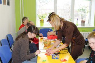 Notika radošās darbnīcas bērniem ar īpašām vajadzībām