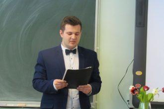 Daugavpilī pētniecisko darbu lasījumos piedalās Ilūkstes Sadraudzības vidusskolas skolēns