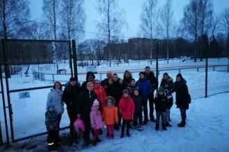 """Kopā pavadījām ziemu pasākumā """"Ziemas diena ģimenēm"""" Bebrenē"""