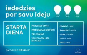 """""""ALTUM"""" 22. martā Daugavpilī aicina uz """"Starta dienu"""" jaunajiem uzņēmējiem"""