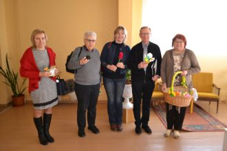 Latvijas Sarkanā Krusta Daugavpils-Ilūkstes novadu komitejā viesojās Dānijas organizācijas pārstāvji