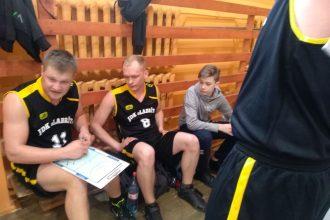 """Ar Dvietes pagasta  komandas uzvaru noslēdzās Ilūkstes novada  """"Lieldienu kausa"""" sacensības basketbolā"""