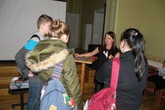 """Projekta """"Karjeras atbalsts vispārējās un profesionālās izglītības iestādēs"""" ietvaros, skolēniem bija iespēja tikties ar """"Bite Latvija"""" klimata kontroles menedžeri"""
