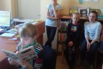 """""""Grāmatu starta"""" Pūčulēns viesojas Dvietes pagasta bibliotēkā"""