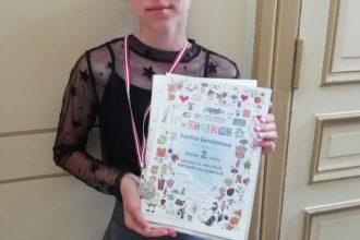 Ilūkstes 1. vidusskolas skolniece iegūst 2. vietu matemātikas Valsts olimpiādē