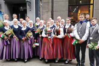 Lai krāšņi un neaizmirstami Dziesmu un Deju svētki mūsu novada dejotājiem un dziedātājiem!