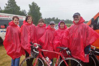 Novada komanda ar augstiem rezultātiem startē  Latvijas sporta veterānu savienības 55.sporta spēlēs riteņbraukšanā