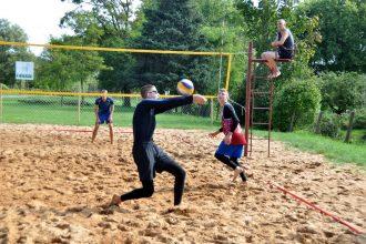 Ilūkstē notika pludmales volejbola sacensības