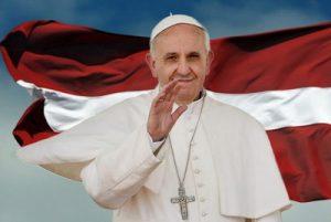 24. septembrī vēsturiskā vizītē Latvijā viesosies Svētais tēvs Romas pāvests Francisks