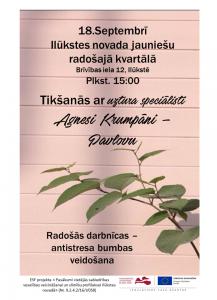 Jaunieši aicināti uz tikšanos ar uztura speciālisti Agnesi Krumpāni-Pavlovu