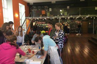 Jaunieši iesaistās ESF veselības veicināšanas projekta aktivitātēs