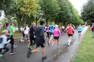 Aizvadīts tradicionālais skrējiens pa Ilūkstes pilsētas  ielām
