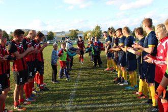 Ilūkstē aizvadīta Jurija Žigajeva atvadu spēle profesionālajā futbolā