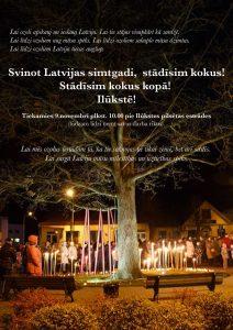 Svinot Latvijas simtgadi, stādīsim kokus!