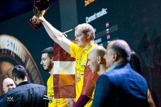 Ilūkstietis Sandris Šedis izcīna Pasaules kausa čempiona titulu