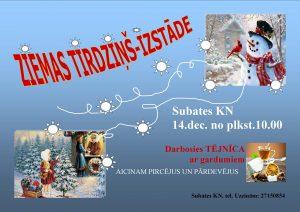 Subatē norisināsies Ziemas tirdziņš