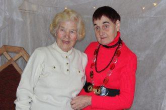 Dāvājot prieku novada senioriem…