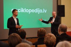 18. decembrī Bebrenē notika Nacionālās enciklopēdijas elektroniskās vietnes atklāšana