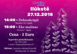 """Zinātkāres centrs """"ZINOO Daugavpils"""" organizē nodarbības Ilūkstē"""