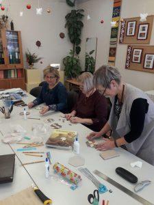 Ilūkstes novada skolotāji jau vairākus gadus tiekas meistarklases radošajās darbnīcās