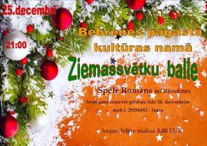 Ziemassvētku balle Bebrenē