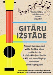 Valda Timšāna personisko ģitāru kolekcija