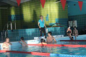 Sporta centrs aicina uz peldētapmācības nodarbībām