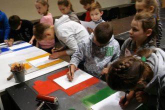 Ilūkstes Raiņa vidusskolas 1.e – 4.e klases skolēnu mācību ekskursija uz Marka Rotko mākslas centru un Zinoo centru