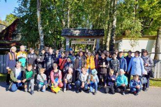 Ilūkstes Raiņa vidusskolas (Stadiona 1) skolēni iepazīst  Jēkabpils vēstures muzeju