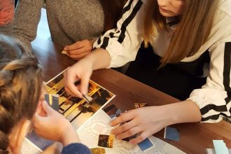 Ilūkstes Raiņa vidusskolas 3.e – 9.e klases skolēnu mācību ekskursija uz Skrindu dzimtas muzeju