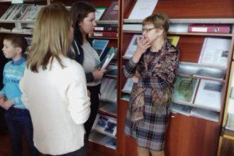 """""""Projektu nedēļā"""" skolēni viesojās bibliotēkā"""