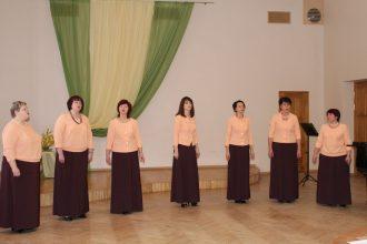 Ilūkstes novada kultūras centrā izskanējis novada vokālo ansambļu konkurss