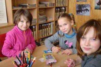 Bebrenes pagasta  bibliotēkā notika radošās darbnīcas