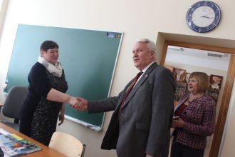 28. martā Ilūkstes novadā viesojās zemkopības ministrs Jānis Dūklavs