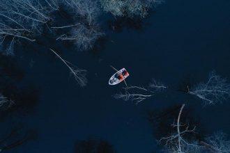 """Dvietes upes senlejā var nomāt laivas un doties palu """"asinsritē"""""""
