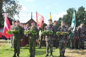 Subatē godinās Latvijas un Lietuvas neatkarības cīnītājus