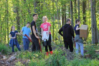 """Pilskalnes pagasta bibliotēka sagaidīja pavasari """"Latvijas Meža dienās"""""""