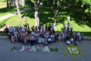 Bebrenes skolas skolēni mācību gadu noslēdz novada svētku gaidās