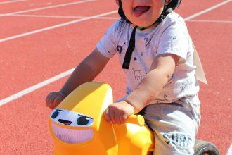 Atzīmējot Bērnu aizsardzības dienu, Ilūkstē notika bērnu riteņbraukšanas sacensības