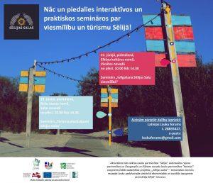 Jūnija beigās  notiks interaktīvi un praktiski semināri par viesmīlību un tūrismu Sēlijas Salās