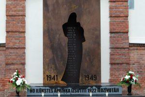 14. jūnijā Ilūkstē pieminēsim komunistiskā genocīda upurus