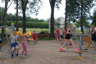 Sporta skolas peldētāji atgriežas no nometnes Koknesē