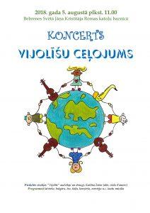 """Bebrenes katoļu baznīca aicina uz koncertu """"Vijolīšu ceļojums"""""""