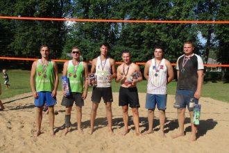 Subatē aizvadīts pludmales volejbola jubilejas turnīrs