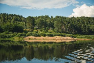 Daugavas ūdenstūrisma maršruta izpētes ekspedīcija piestāj  arī  Ilūkstes novadā