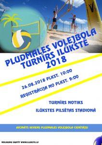 Aicinām piedalīties Ilūkstes novada pludmales volejbola sacensībās