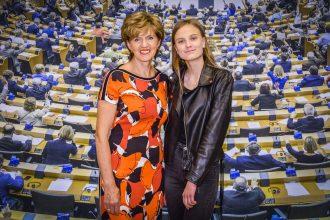 Estere Anspoka apmeklē Eiropas Parlamentu