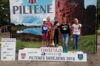 Sacensībās Piltenē Ilūkstes novada Sporta skolas audzēkņi izcīna 5 medaļas